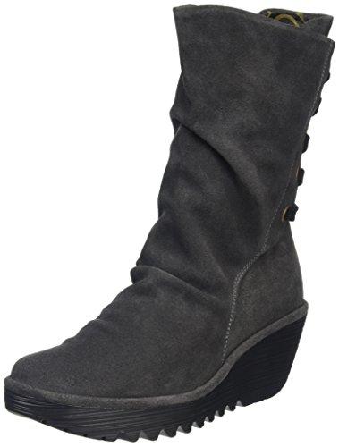 Fly London Women Yada Mid-Calf Boots, Blue (Diesel 014), 6 UK 39...