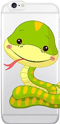 Blitz® Animaux Fables motifs housse de protection transparent TPE caricature bande iPhone Chien de dessin animé M14 iPhone X Bébé serpent M13