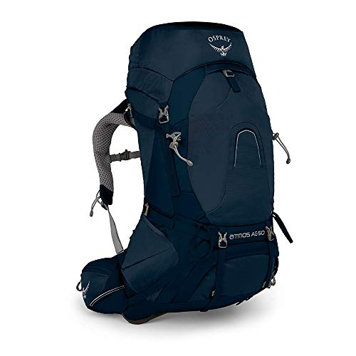 Osprey Atmos AG 50 Men's Backpacking Pack - Unity Blue (LG)
