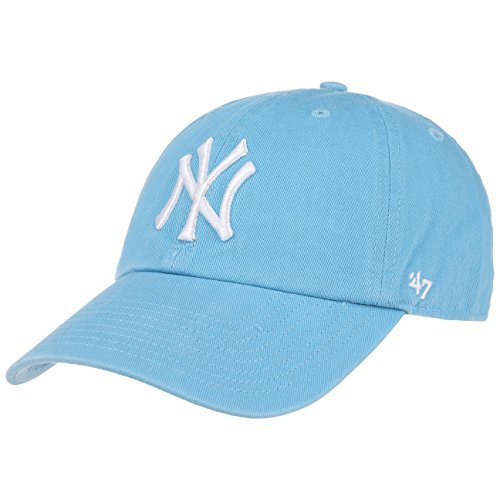 47 Brand New York Yankees Clean Up Relaxed 'n' Curved Strapback Cap, columbia