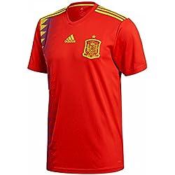 adidas Camiseta de la Selección Española de Fútbol para el Mundial 2018, Oficial, Hombre, 1ª Equipación, Talla 3XL