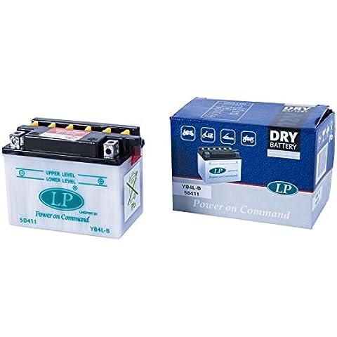 Accossato Batteria Dry Senza Acido MOTRON 50 Compact Racing RZ1 MB YB4L-B