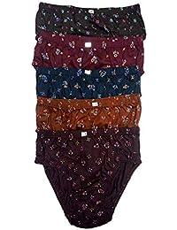 ESSA Fairlady Printed Womens Cotton Panties (Pack of 5)
