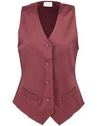 Premier Workwear Damen Anzugweste Ladies Hospitality Waistcoat