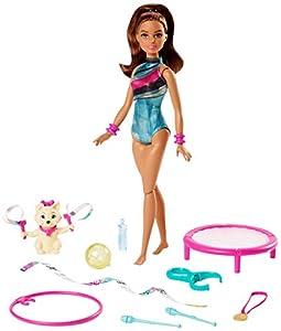 Barbie Teresa gimnasta muñeca con accesorios (Mattel GHK24)