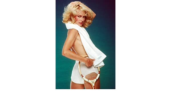 Randi Oakes Saucy Topless Pin Up With Towel Around Neck Chips Large Poster