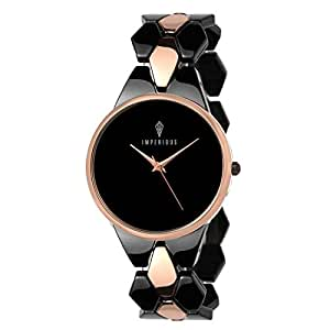 IMPERIOUS Analogue Black Dial Women's Watch