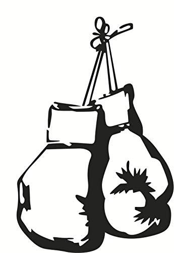 Neue Boxhandtasche Persönlichkeit dekorative Wandaufkleber Junge Schlafzimmer Aufkleber entfernt wasserdicht