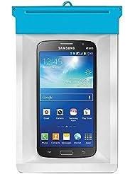 eLisa8–Smartphone Impermeable/Bolsa/Funda para proteger contra el agua, arena, polvo y nieve daños para dispositivos de hasta 145x 70mm (LXW). Ideal para iphone y Samsung Galaxy, smartphones de hasta 6pulgadas. Color–azul