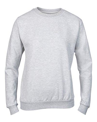 MAKZ - Sweat-shirt - Femme XX-Large Blanc - Blanc