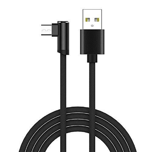 Xuxuou USB Kabel USB Lightning 2,4A Ladekabel Datenkabel mit Nylon Geflochtenes für Android Smartphones Samsung, Huawei, Sony, Nokia, HTC, Kindle mehr (1.2M)