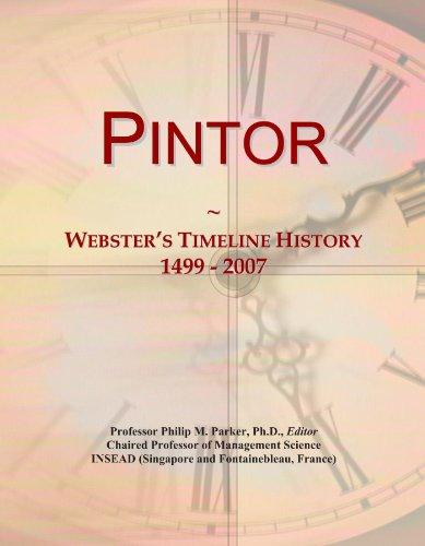 pintor-websters-timeline-history-1499-2007