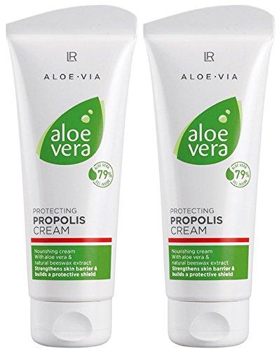 LR ALOE VIA Aloe Vera Schützende Propolis Creme (2x 100 ml) -