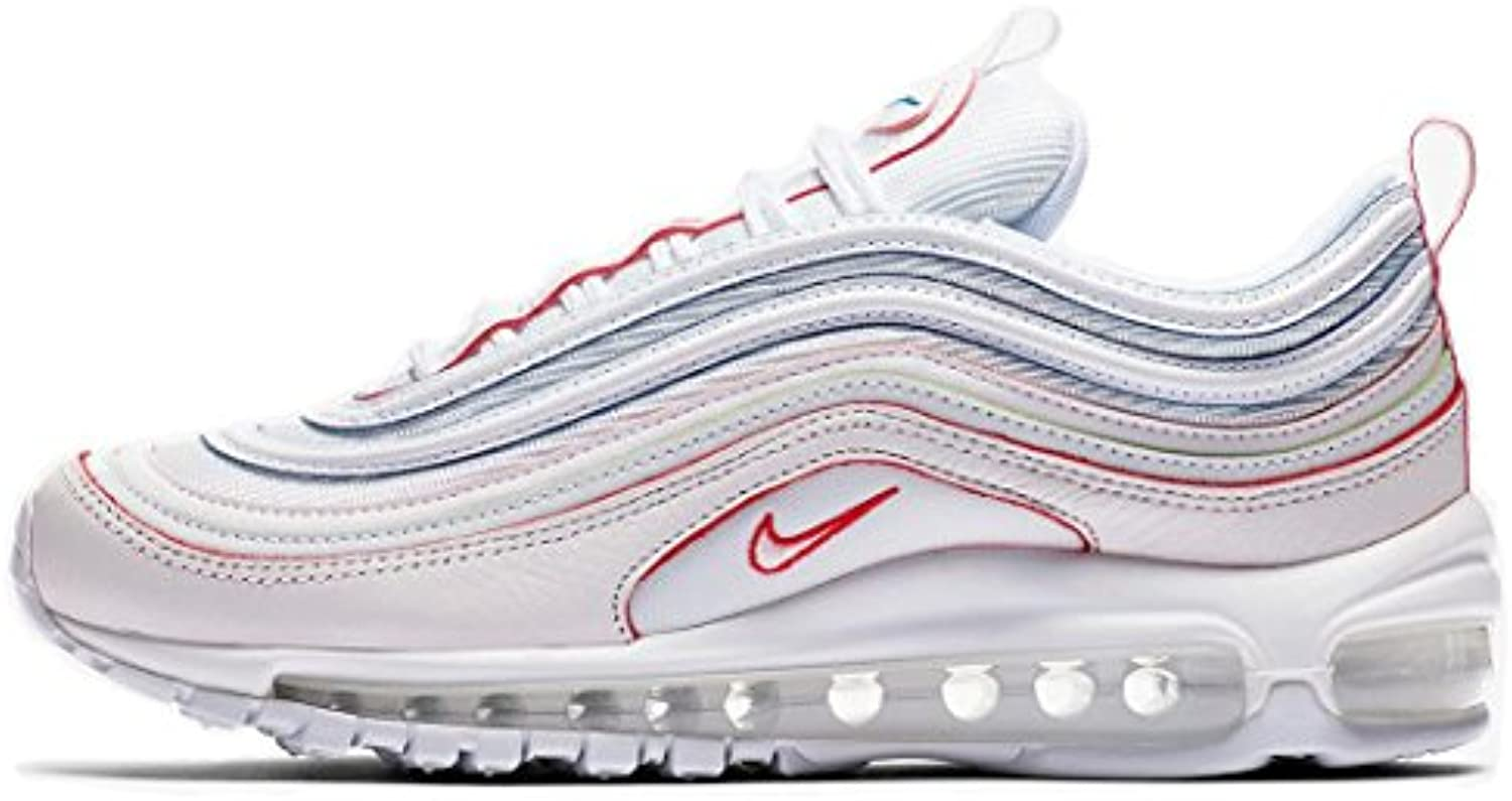 Air Max 97 Rainbow Tea Berry Bordeaux AQ4137 100 Herren Damen Gymnastikschuhe