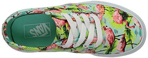 Vans Mädchen Camden Stripe Sneaker, Grün Mehrfarbig (flamingo/mint)