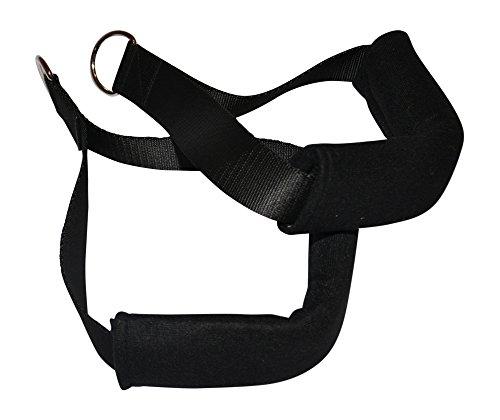BodyCROSS Bauchtrainer | gepolsterte Armschlaufen für Bauchtraining | abnehmbare und waschbare Armpolster | Belastbar bis 130kg | Made in Germany