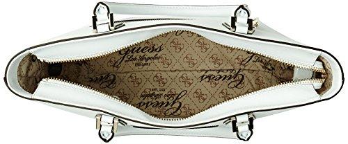 Shopper Piccola Carly Logo Bianco (WHITE)