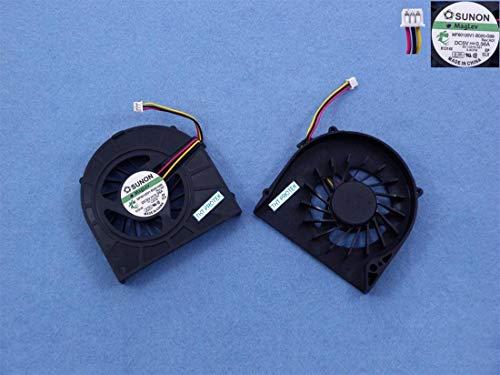 Dell Notebook-kühler (Kompatibel für Dell Inspiron 15 N5010 M5010 Lüfter Kühler Fan Cooler, DFB451005M20T)