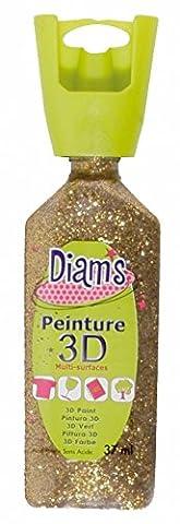 Deco Peinture - Peinture Diams 3D - Pailleté