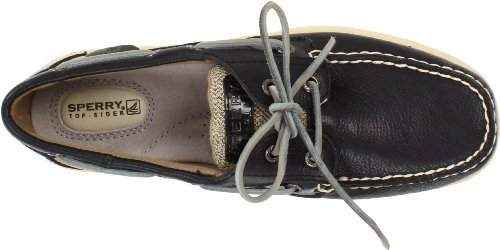 Sperry Bluefish 9174640, Mocassins femme Noir - Black/Oat