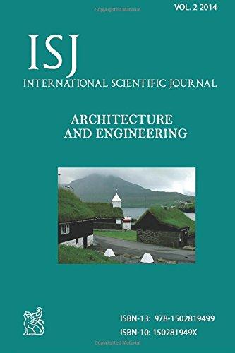 International Scientific Journal Architecture & Engineering: Volume 2