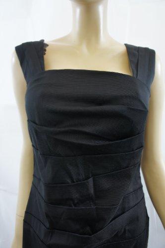 Alex amp; Co. Sábana bajera plisado vestido Negro negro 38