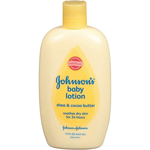 Johnson & Johnson K-BB-1006 Johnsons Shea & Cocoa Butter Baby Lotion von Johnson & Johnson f-r Kids - 15 Unzen Lotion (Baby-lotion Shea)