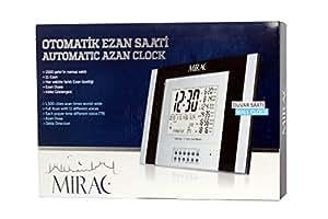 Mirac - Horloge Murale Automatique EZAN SAATI 2015