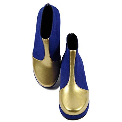 Magische Girl_Madoka Kaname Schuhe Puella_high hochhackige Schuhe / Hochzeit von Groesse 39 Frauen