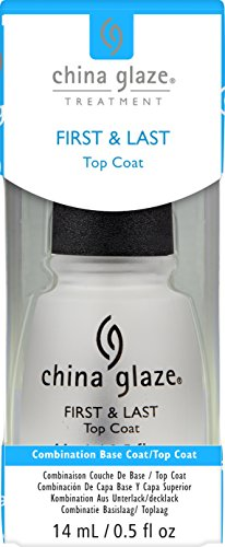 China Glaze First und Last (Top, Base Coat), 1er Pack (1 x 14 ml)