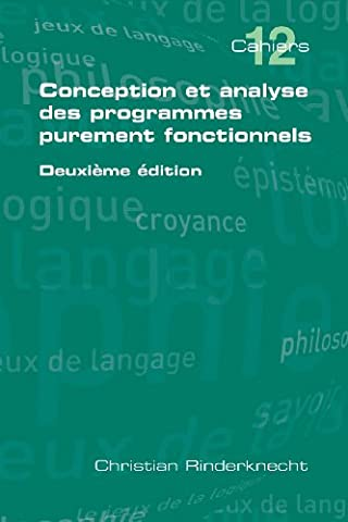 Conception et analyse des programmes purement fonctionnels