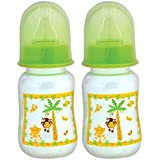 Mee Mee Premium Baby Feeding Bottle, 125ml, Green (Pack Of 2)