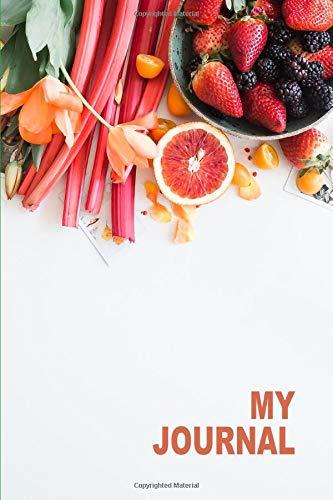 My Journal. For Vegans Vegetables Lover. Blank Lined Planner Notebook Diary. (Mini Adult Vitamine)