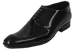 Guava Patent Business Shoes - Black