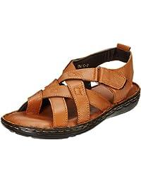 Burwood Men's Leather Casual Sandals
