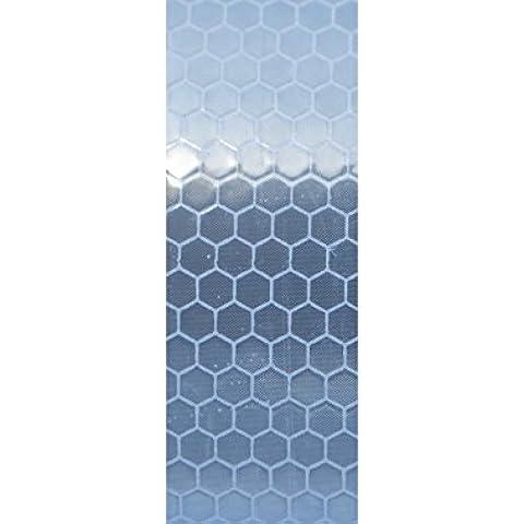 25mm x 100mm ad alta intensità Grade Bianco riflettente nastro striscia