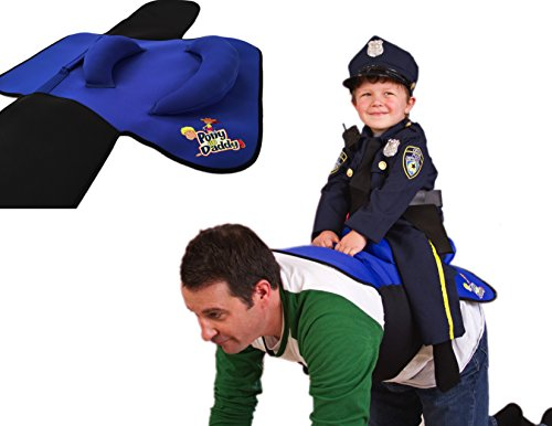 Pony Up Daddy Saddle - Blue Sheriff