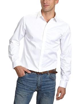JACK & JONES PREMIUM Herren Hemd mit Manschetten Slim Fit 12020857 Andrew Shirt L/S Tight Fit