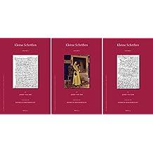 Kleine Schriften by Josef Van Ess (3 Vols) (Islamic History and Civilization)