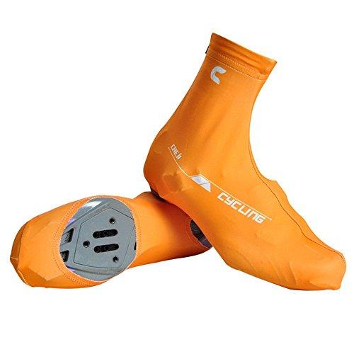 Fahrrad-Fahrrad-Breathable Schuh-Abdeckungen Lycra Radfahren Reißverschluss Staubdichtes Überschuhe Abdeckungen (Radfahren Lycra überschuhe)