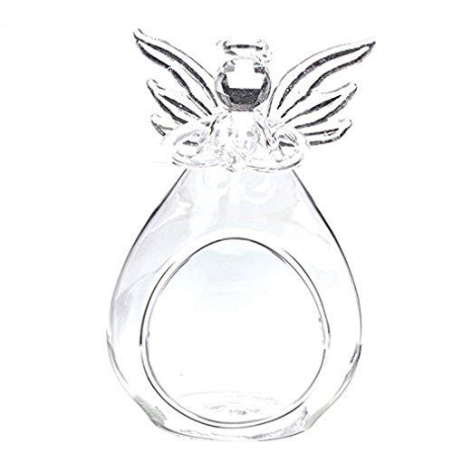 Kerzenhalter Engel Glas Kristall Hängen Teelicht Wohnkultur Kerzenständer Micro Ornamente Romance -