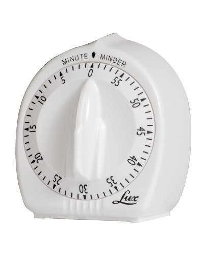 Browne Foodservice 2428 Lux Minute Minder Classic 60 Minute Mechanical Timer by Browne Foodservice -