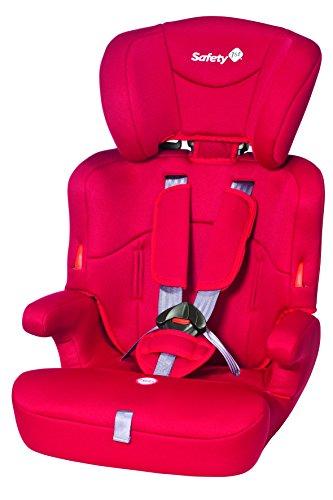 Safety 1st Ever Safe Kindersitz Gruppe 1/2/3, ab circa 12 Monate bis 12 Jahre, rot Baby Auto Safe-seat