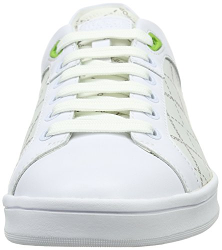 Boss Green Rayadv Tenn Nypr 10191433 01, Baskets Basses Homme Blanc (White 100)
