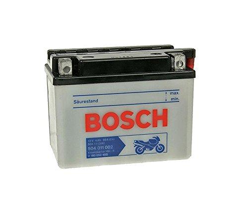 Bosch - Batería YB4L-B, 12voltios