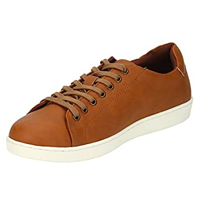 Bond Street by (Red Tape) Men's Tan Sneakers - 10 UK/India (44 EU) (BSS0573-10)