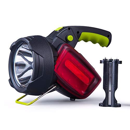 BOFEISI Lanterne LED Rechargeable Lampe de Poche, Multi-Function Camping Super Bright étanche LED projecteur pour randonnée, pêche, d'urgence et Bien Plus Encore