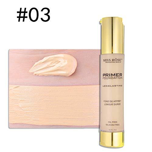 Farben Make Up Creme Face Eye Foundation, Makeup Liquid Foundation Feuchtigkeitsspendende wasserdichte Concealer BB-Creme,C -