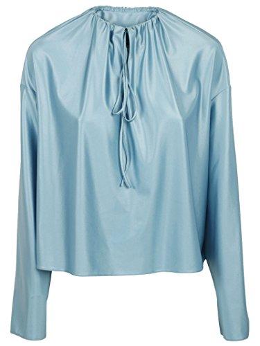 balenciaga-femme-470666tvk014965-bleu-claire-polyamide-blouse