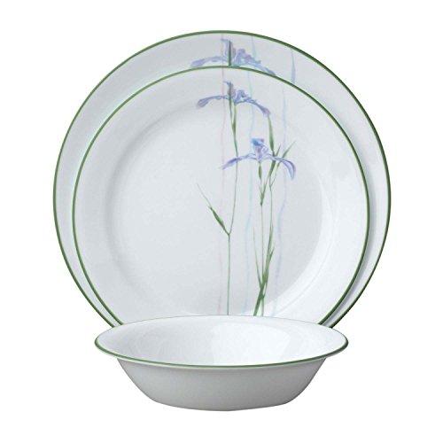 corelle-service-18-pieces-en-verre-vitrelle-motif-shadow-iris-service-de-table-pour-6-violet-vert